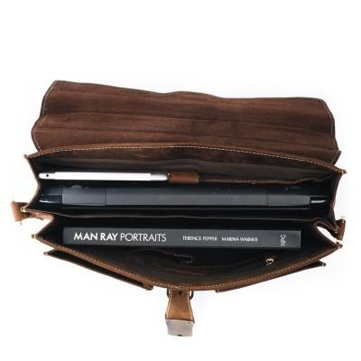 74fd29df79fe Мужской портфель из натуральной кожи LEONARD Мужской портфель из  натуральной кожи LEONARD