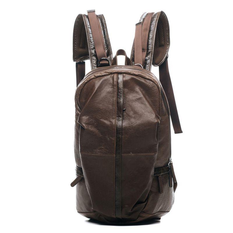 Кожаный рюкзак Brandy Caffe