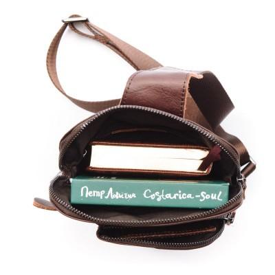 Мужской рюкзак из натуральной кожи COSO