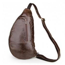 Мужской рюкзак из натуральной кожи MAGIC