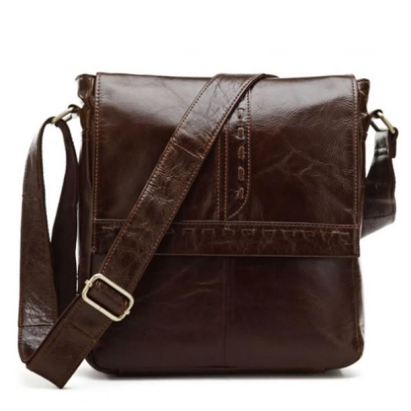 Кожаная сумка через плечо ARAS