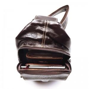 Мужской рюкзак из натуральной кожи Fodi