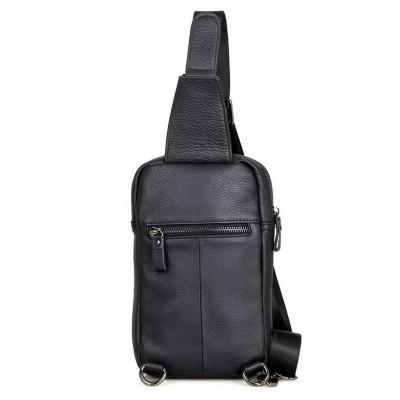 Кожаная мужская сумка через плечо Mike Nero