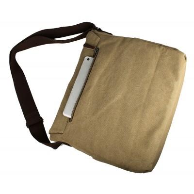Мужская сумка через плечо Nigel Latte Cioccolato