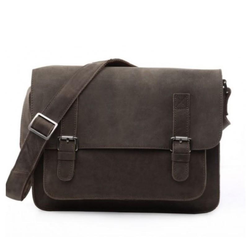 Кожаная мужская сумка через плечо TOLO NOTTE