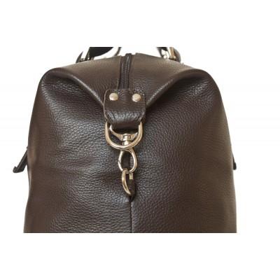 Кожаная дорожная сумка Ardenno brown (арт. 4013-04)
