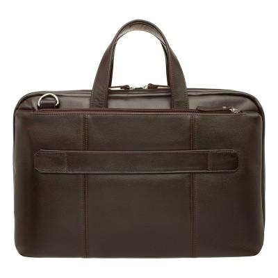 Мужская сумка из кожи Daines Brown
