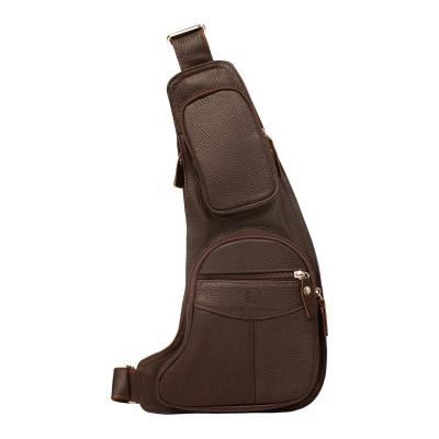 Кожаный рюкзак мужской Oban Brown