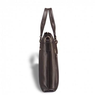 Деловая сумка малого формата BRIALDI Abetone (Абетоне) relief brown