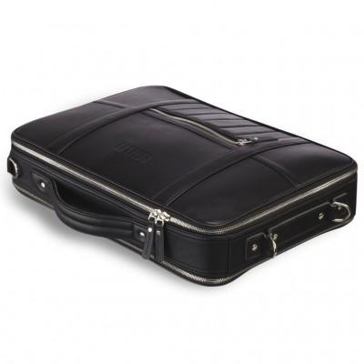 Мужской кожаный рюкзак-трансформер BRIALDI Bering (Беринг) black