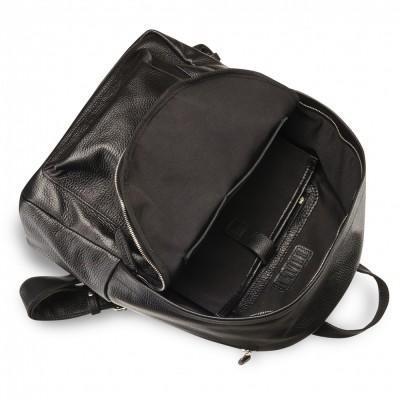 Мужской рюкзак из натуральной кожи BRIALDI Pico (Пико) relief black