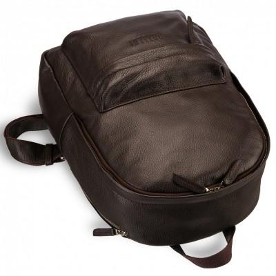 Мужской рюкзак из натуральной кожи BRIALDI Pico (Пико) relief brown