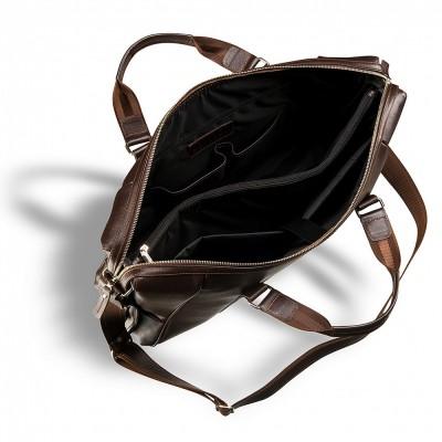 Деловая сумка BRIALDI Valvasone (Вальвазоне) brown