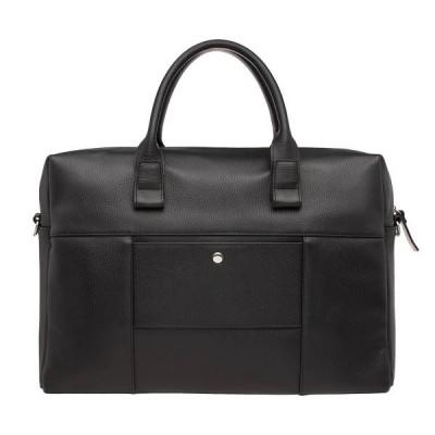 Кожаная деловая сумка Dartmoor Black