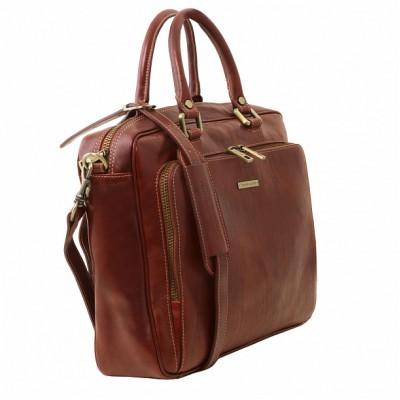Кожаный портфель для документов Pisa (Коричневый)