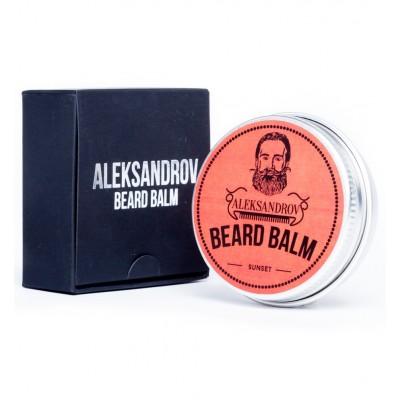 Aleksandrov Beard Balm Sunset - Бальзам для бороды Закат 30 гр