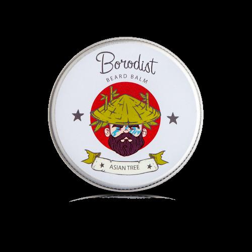 Borodist Asian Tree Beard Balm - бальзам для бороды Азия 50 гр