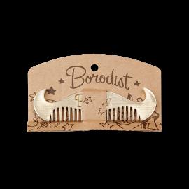 Borodist Mustache Comb - Расческа для усов и бороды