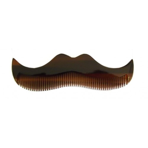Morgan's Moustache Comb - Янтарный гребень в форме усов