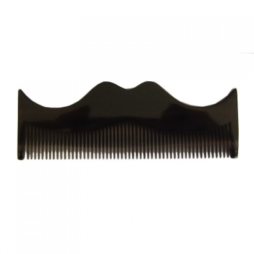 Morgan's Moustache Comb - Серый гребень в форме усов
