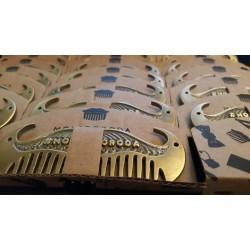Moyaboroda Beard Comb Brutal - Гребень для усов и бороды
