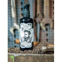 Solomon`s Beard Soap Black Pepper - Шампунь мыло для бороды Черный перец 100 мл