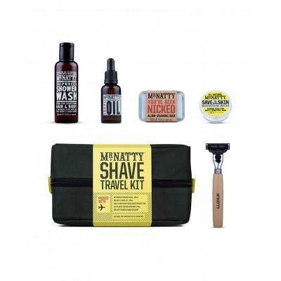 Mr.Natty Wash Kit Shave - Дорожный набор для бритья