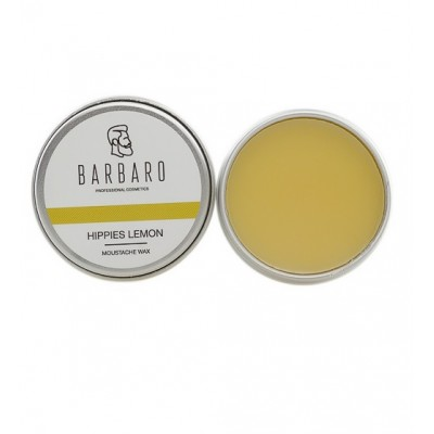 Barbaro Wax Hippies lemon - Воск для усов хиппи-лимон 12 гр