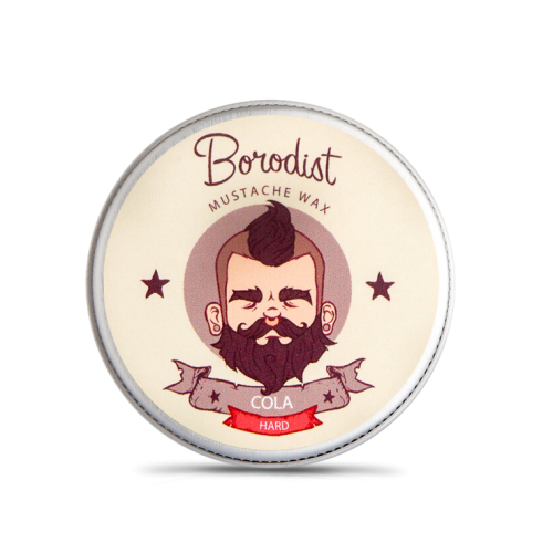 Borodist Cola Wax - Воск для усов 13 гр