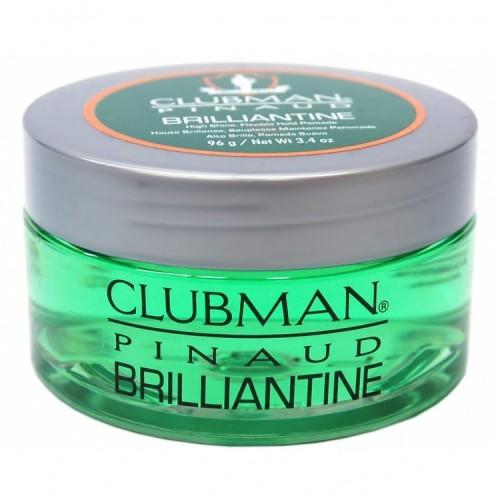 Clubman Pinaud Brilliantine - Гель-бриллиантин для укладки волос 100 мл