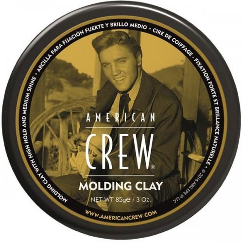 American Crew Classic Molding Clay The King - Формирующая глина для укладки волос (Элвис) 85 гр