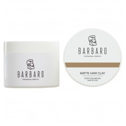 Barbaro Matt Clay - Матовая глина для укладки волос 200 гр
