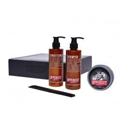 Uppercut Deluxe Matt Clay Combo Kit - Подарочный набор для укладки и ухода за волосами