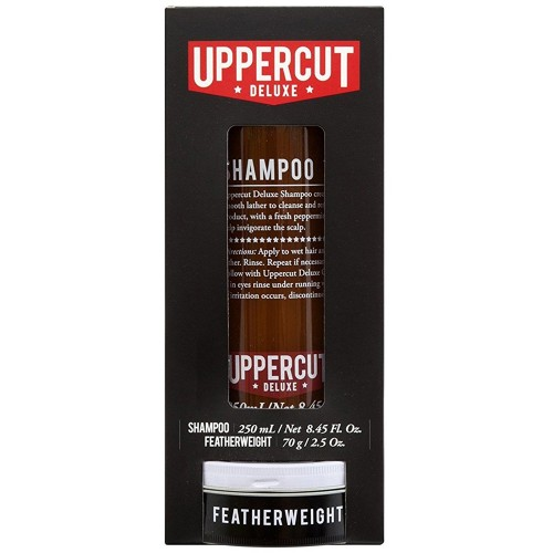 Uppercut Deluxe Shampoo & Featherweight Duo Kit - Набор для укладки и ухода за волосами
