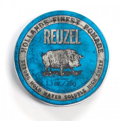 Reuzel Strong Hold High Sheen Pomade - Помада для укладки волос сильной фиксации с эффектом блеска 35 гр