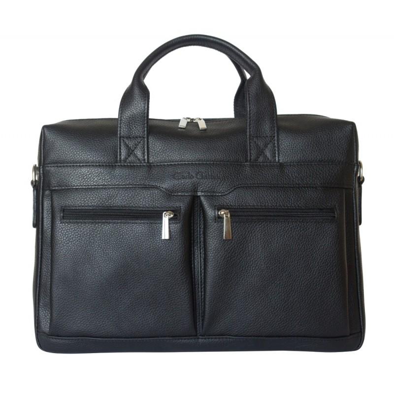 Мужская сумка Lugano black (арт. 1007-91)