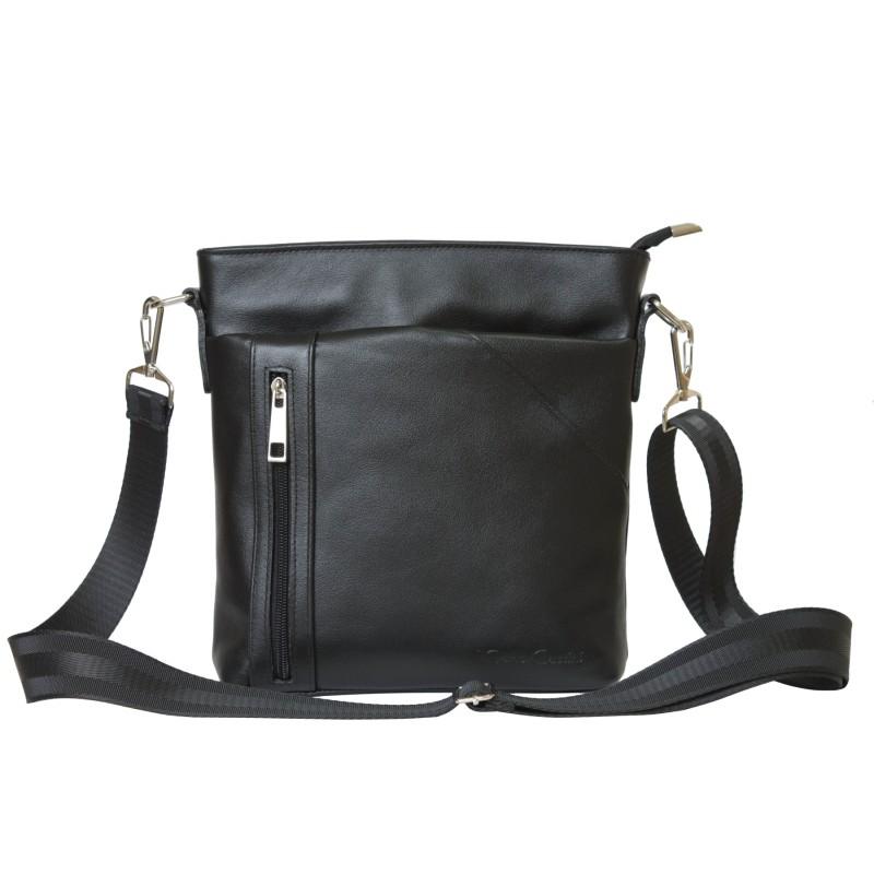 f6610b997bed Кожаная мужская сумка через плечо Lonato black (арт. 5011-01 ...