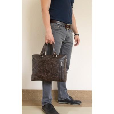 Деловая сумка  Calpino brown (арт. 1010-02)