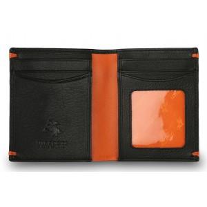 Бумажник  Visconti AP60 Black/Orange