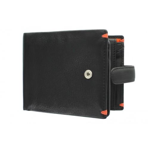 Бумажник  Visconti AP63 Black/Orange