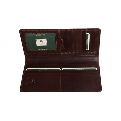 Бумажник  Visconti MZ6 Italian Brown
