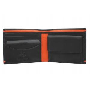 Бумажник  Visconti AP62 Black/Orange