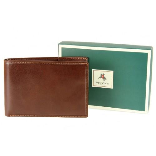 Бумажник  Visconti MZ9 Italian Brown