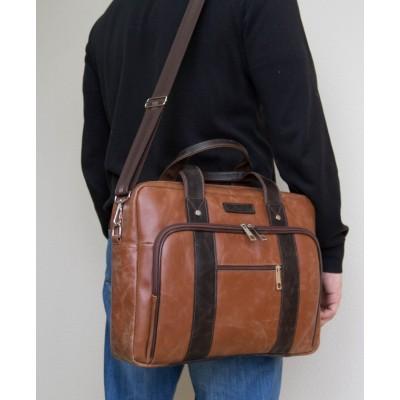 Мужская сумка Rivoli cognac/brown (арт. 1004-03)