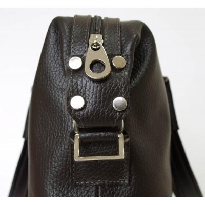 Кожаная мужская сумка Rettori brown (арт. 5012-04)