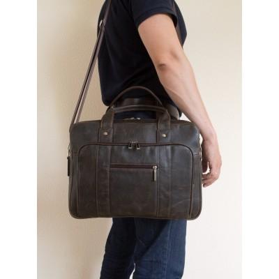 Мужская сумка Rivoli brown (арт. 1004-04)