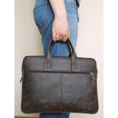 Мужская сумка  Camerano brown (арт. 1001-02)