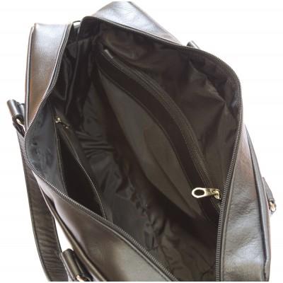 Кожаная мужская сумка Romeno brown (арт. 5003-04)
