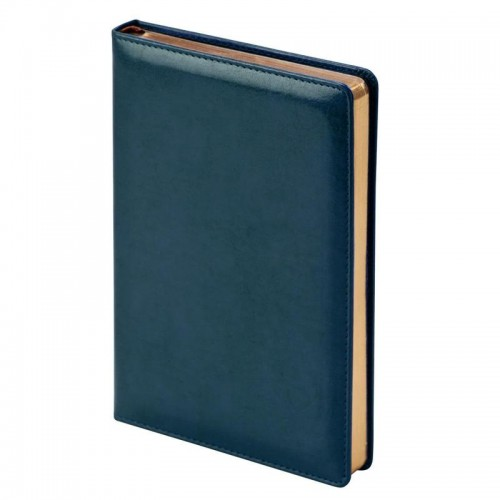 Ежедневник недатированный InFolio Britannia натуральная кожа А5 160 листов