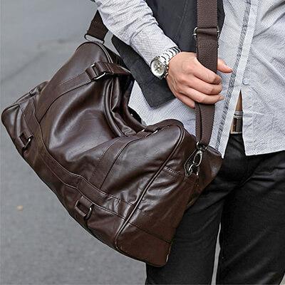 Большая сумка через плечо